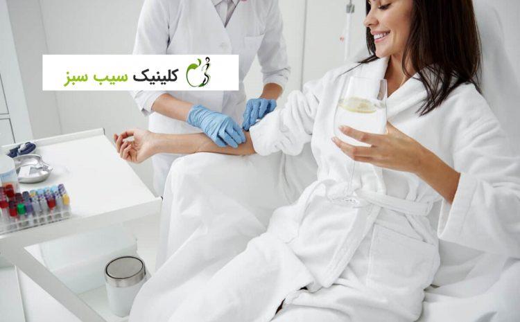 استفاده از ویتامین درمانی IV با درمان اکسیژن هیپرباریک: