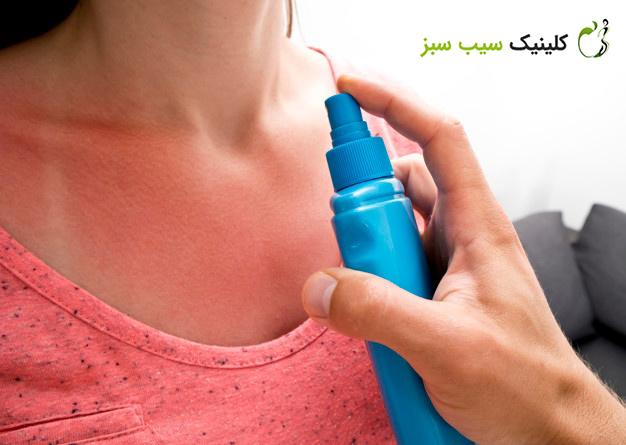 چگونه آفتاب سوختگی را سریعا درمان کنیم؟